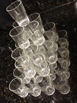 216 1.5 Oz Shot Glasses Glass Barware Shots Whiskey Tequila Vodka RUM 1 CASE