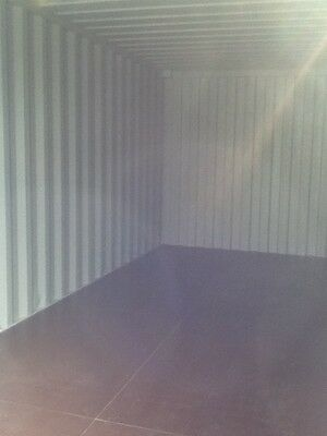 20 ft Long 8 ft Wide Blue 20 ft Storage Sea Container - Store 4