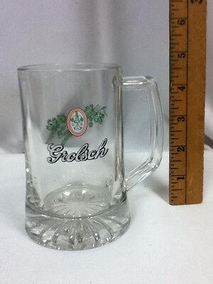 Grolsch beer glass mug bar glasses 1 Dutch brewery logo import bier glasses FH5 2
