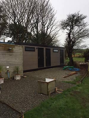 25 x 12 portable cabin, shower toilet block , modular building, portable office