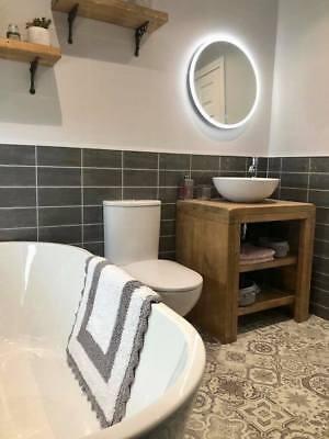 Mossy Pine Wash Stand Rustic Bathroom