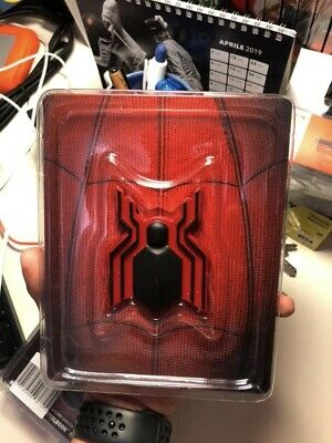 Spiderman Homecoming + Spiderman Un Nuovo Universo Steelbook Blu Ray 4K 3