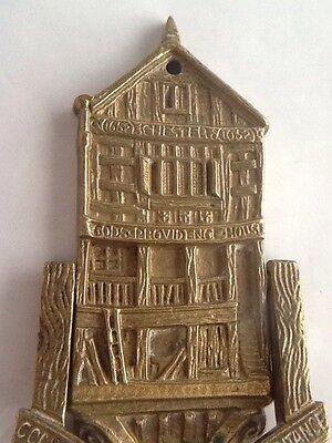 Vintage Brass Gods Providence House - Chester Door Knocker 2