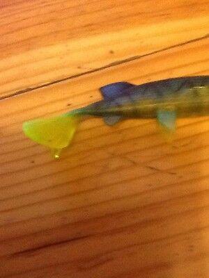 "PIKE FISHING MAXI MINGERS BULLDOG STYLE 8/"" JELLY LURE 105g"