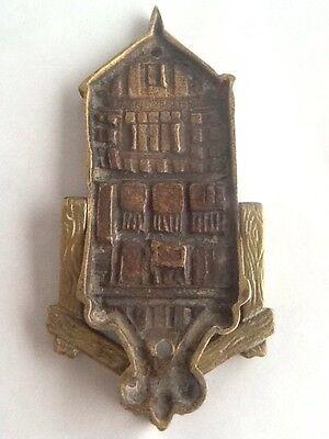 Vintage Brass Gods Providence House - Chester Door Knocker 6