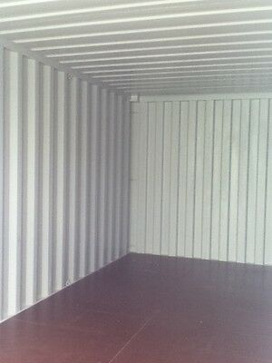 20 ft Long 8 ft Wide Blue 20 ft Storage Sea Container - Store 3
