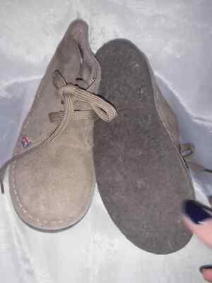 821677bfba3ca6 ... Polacchine OS 1972 Alte Scarpe Bambino Beige Camoscio con Lacci 29 Kids  Shoes 11