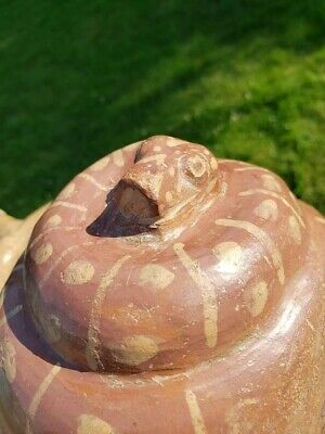 MOCHE PHASE 1 Effigy Vessel, Dual Snakes  Precolumbian, Mayan MAKE AN OFFER 6