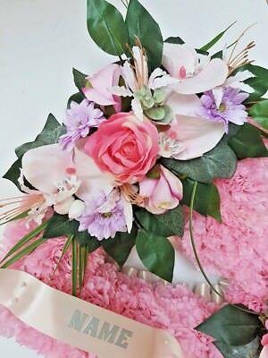 Silk Artificial Funeral Flowers Wreath/Memorial/Grave Tribute Wreaths 5