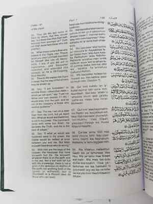 Holy Quran Translation & Transliteration with Arabic Text(Yusuf Ali) A5 Size IBS 3
