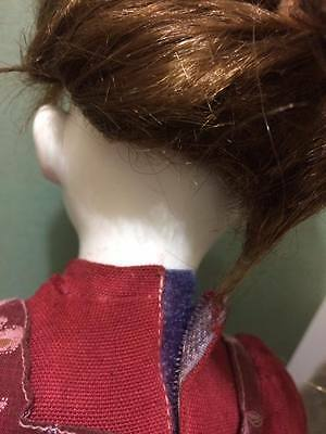 artist signed creepy bisque doll 3