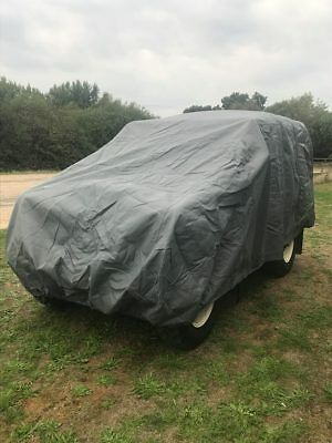 Land Rover Series 1-3 Heavy Duty Cover, Scratch Proof, Waterproof, 4 Layers 7