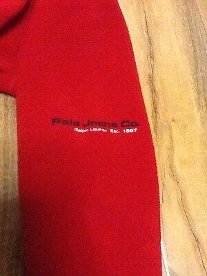 Ralph Lauren Polo Jeans Co. Fleece Cardigan Boys Size M 9