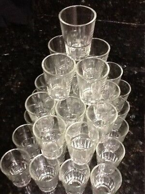 42 Shot Glasses 1.5 oz Glass Barware Shots Drink Whiskey Vodka Restaurant Supply 7