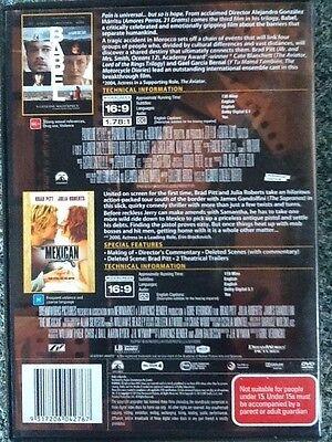 BABEL / THE MEXICAN - Brad Pitt / Kate Blanchett / Julia Roberts - 2 discs #1259 2