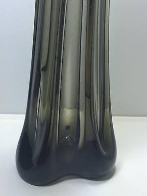Mid century Skrdlovice Bohemian art glass vase 3