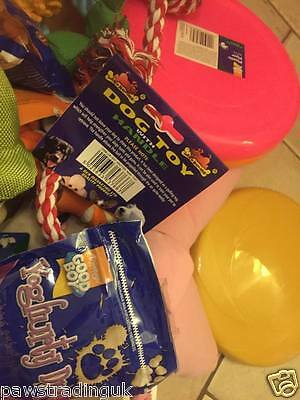 5 ASSORTED TOYS TREATS PET PUPPY DOG DOGGY BARGAIN Bundle Great Value 4