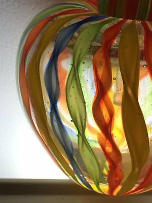 Ribbon art glass apple perfume bottle 7