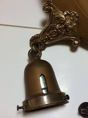 Antique brass lite fixture 7
