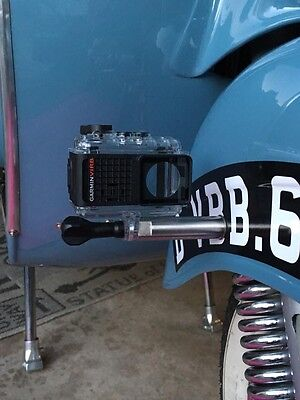 Actioncam Gopro Motorrad Halterung Edelstahl Befestigung M6 Adapter
