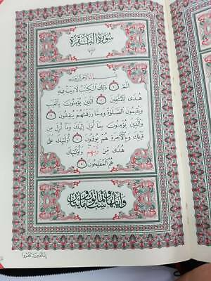The Holy Quran Arabic Mushaf (Zipped Case) (Large - 25x18cm) (DS12) DSC 3