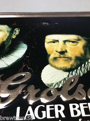 Grolsch Premium Lager beer sign vintage TOC tin tacker bar signs 1 import YM5 8