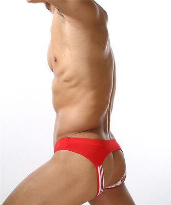 String Slip Jockstrap Sexy Homme Fesses Nues Underwear Thong Man Men Uomo 3