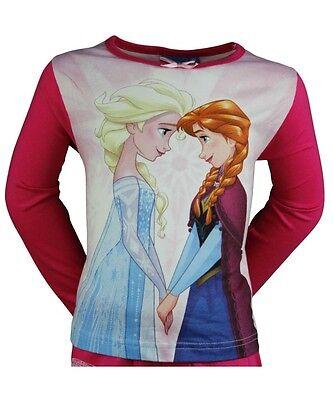Pyjama Enfant Disney Frozen  La Reine Des Neiges Rose 2