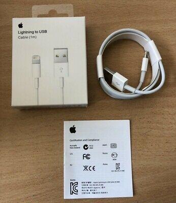 Chargeur Apple Cable Original 1M Usb Iphone 5/5C/5S/6/6S/7/8/X/Xr 😱2+1Gratuit😱 3