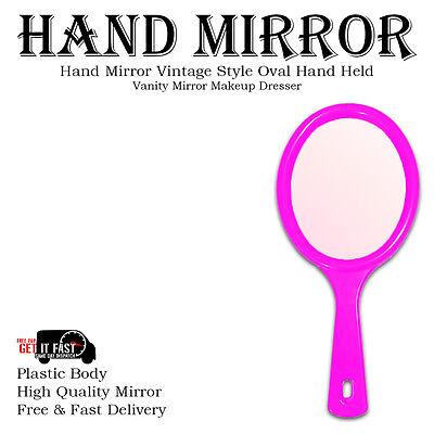 Hand Held Mirror Salon Style Hand Mirror Vanity Mirror Professional Makeup Tool 4