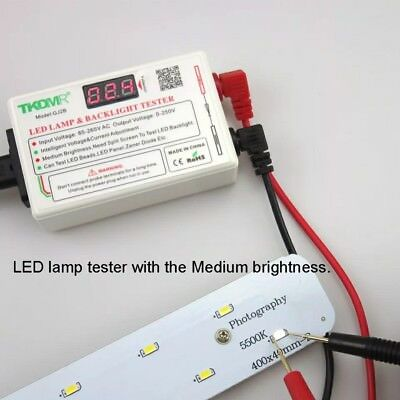 Tester portatile per retroilluminazione a LED TV, strisce led, ecc 2