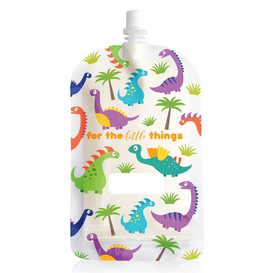 New 200ml Sinchies Reusable Food Pouches BPA Free Child, Adult, Camping 5/10/20 3