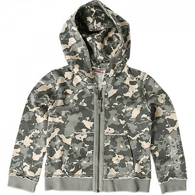 Dimensione Danza Camouflage Hooded Zip Sweat Jacket - Age 5 - RRP £57 Box6269 G 2