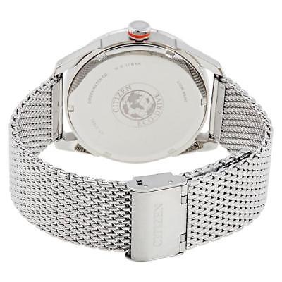 Citizen Eco-Drive CTO Men's Blue Dial Mesh Bracelet 42mm Watch BM6990-55L 4