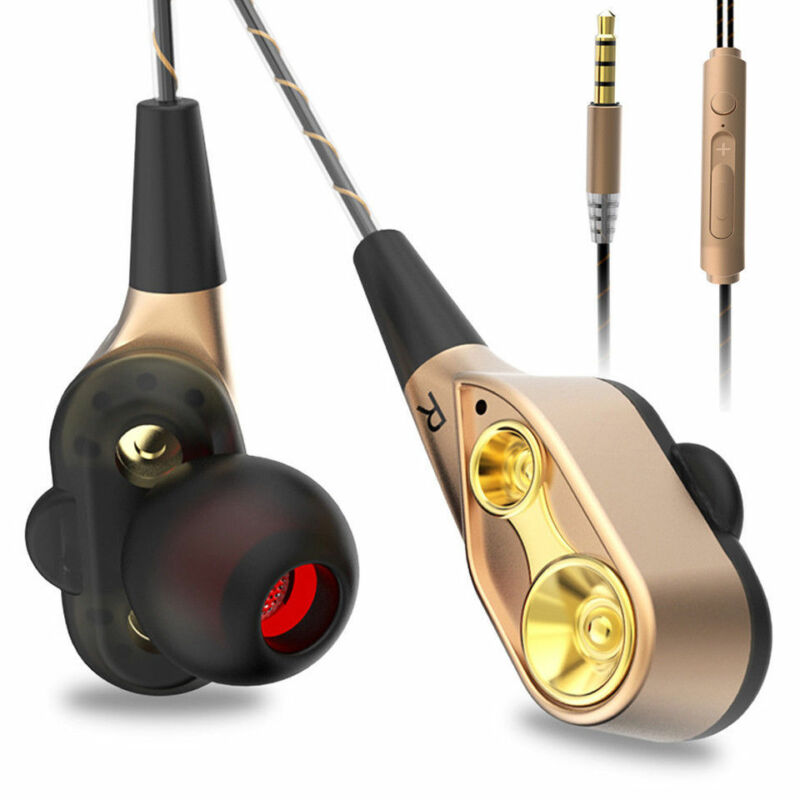 HIFI In-Ear Super Bass Stereo Earphone Earbuds Headphone Sports Headset With Mic 7
