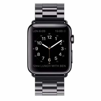 For Apple Watch Series 3/2/1 Stainless Steel Wrist iWatch Band Strap 38/42mm US 2