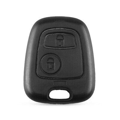 Guscio Chiave 2 Tasti Pulsanti Cover Per Telecomando Toyota Aygo Citroen Peugeot 2