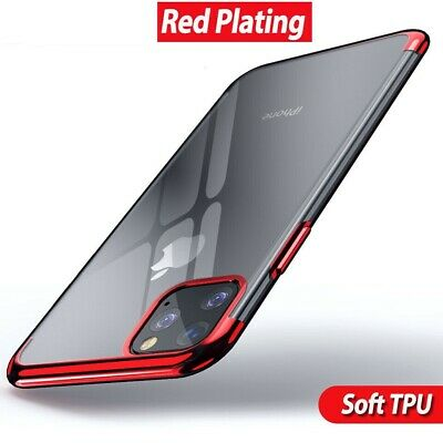 Case for iPhone 11 Pro Max ShockProof Soft Phone TPU Silicone Protective Cover 10