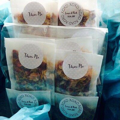 Biodegradable Wedding Confetti Flower Natural Dried Petal 50 bags 3