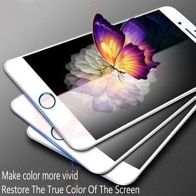 Pellicola Vetro Temperato 5D CURVO Protezione Completa per iPhone XS MAX XR 7 8 3