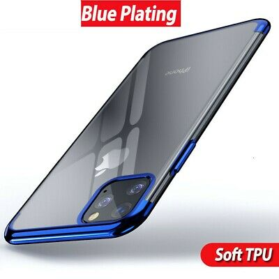 Case for iPhone 11 Pro Max ShockProof Soft Phone TPU Silicone Protective Cover 6