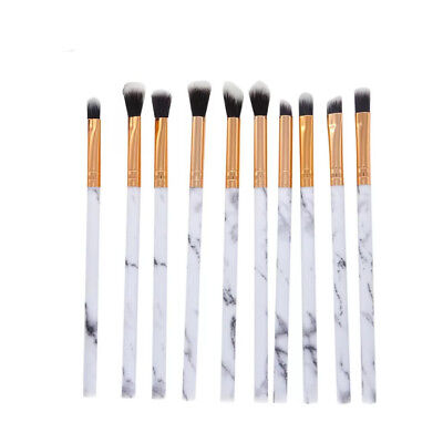 10 PCS Eyeshadow Make up Brushes Eyebrow Eyeliner Brushes Eye Lip Brusher Tool 10