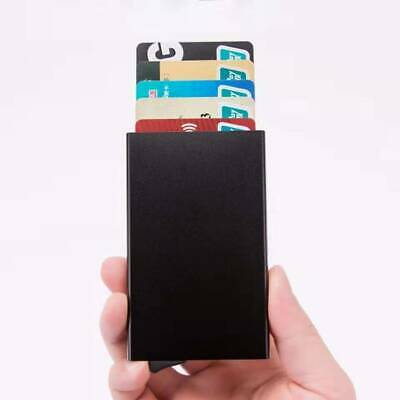 Men Credit Card Holder RFID Blocking ID Card Case Slim Money Travel Wallet Gift 4