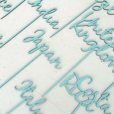 Wooden Table Names, Customised Table Names, Free Standing Wedding Table Names 4