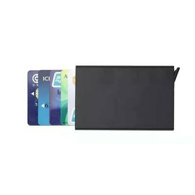 Men Credit Card Holder RFID Blocking ID Card Case Slim Money Travel Wallet Gift 2