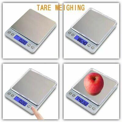 Portable 3000g x 0.01g Mini Digital Scale Jewelry Pocket Balance Weight Gram LCD 8