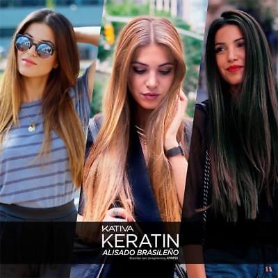 Kativa Keratina & Argan Oil Alisado Brasileño Sin Formol Kit
