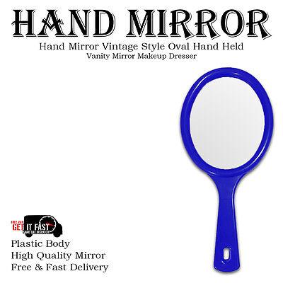 Hand Held Mirror Salon Style Hand Mirror Vanity Mirror Professional Makeup Tool 3