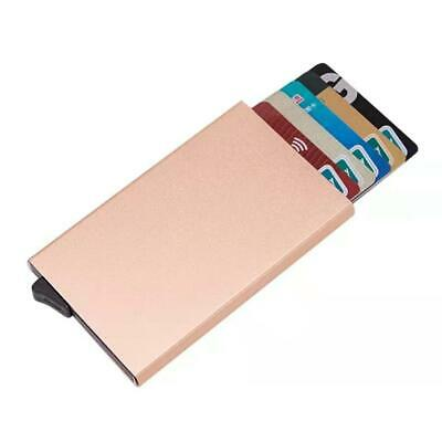 Men Credit Card Holder RFID Blocking ID Card Case Slim Money Travel Wallet Gift 6