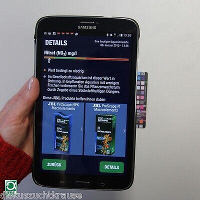 JBL ProScancMulti-Wasseranalyse mit Auswertung über Smartphone App in 1 Minute